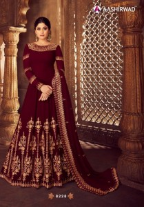 AASHIRWAD CREATION ANARKALI DRESSES WHOLESALE