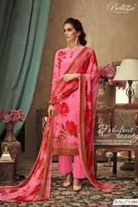BELLIZA DESIGNER RICHA PRINTED SUITS IN CHEAPEST PRICE