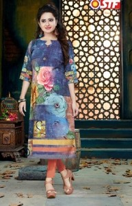 STF MISS WORLD MUSLIN KURTIS WHOLESALER