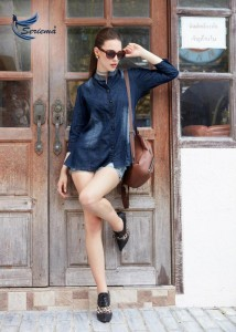 SERIEMA CARBON DENIM KURTIS WHOLESALER