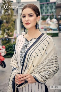 COSMOS MEHER LAWN SUITS WITH COTTON DUPATTA