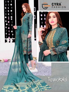 CYRA FASHION TAWAKKAL WHOLESALE SUITS