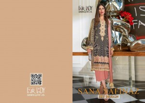 FAIR LADY SANA SAFINAZ SATIN HIT DESIGN WHOLESALER SURAT