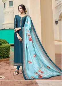 RSF GULAL SATIN GEORGETTE SUITS