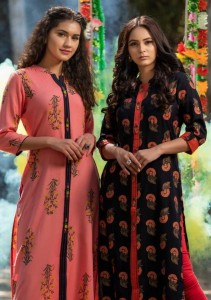PSYNA PARISHI VOL 2 RAYON KURTI SUPPLIER