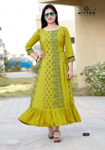 MITTOO CAMBRIDGE COTTON KURTI MANUFACTURER