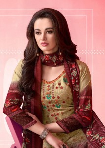 SHAHNAZ ARTS ASAR PASHMINA SALWAR KAMEEZ SUITS CATALOGUE SURAT