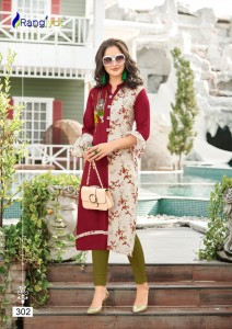 RANGJYOT ISHITA VOL 3 WHOLESALE KURTIS