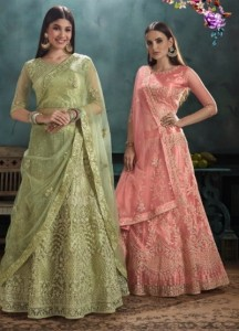 KESSI FABRICS ZARKAN LEHENGA COLLECTION