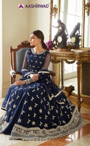 AASHIRWAD CREATION CELEBRATION ANARKALI SUITS