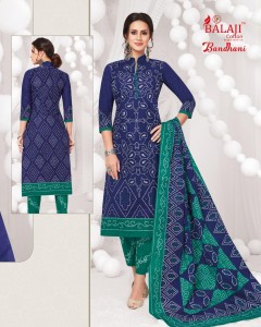 BALAJI COTTON BANDHANI VOL 1 COTTON SUITS PIECES WITH PRICE
