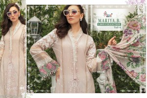 SHREE FABS MARIYA B LAWN COLLECTION VOL 4 SALWAR KAMEEZ WHOLESALE