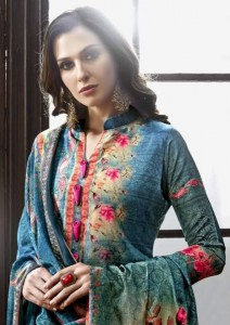 KAYVEE THE ROYAL SILK DIGITAL PRINT SALWAR KAMEEZ CATALOGUE WHOLESALE SURAT