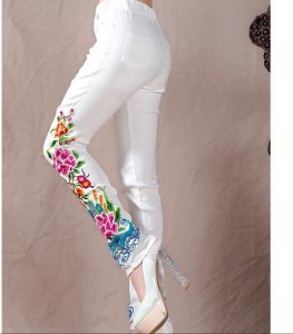 CIGARETTE PANTS IN COTTON WHOLESALE