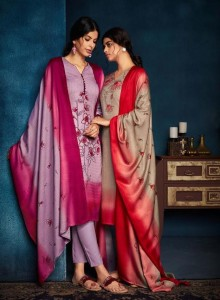 BELLIZA DESIGNER SPARKLE PASHMINA SUITS