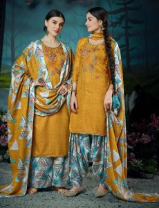 BELLIZA DESIGNER PATIALA MAGIC PASHMINA