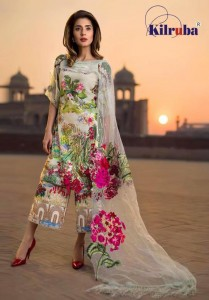 KILRUBA ASIFA NABEEL LAWN COLLECTION
