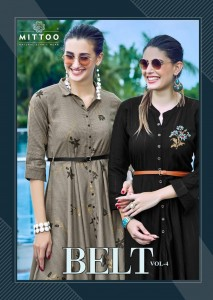 MITTOO BELT VOL 4 KURTI WHOLESALER