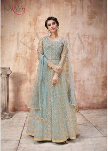 KARMA 16022 SERIES ANARKALI SUITS WHOLESALER