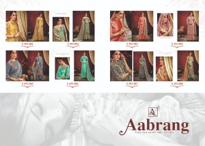 ALOK AABRANG PASHMINA SUITS MANUFACTURER IN SURAT