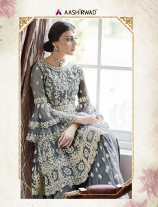 AASHIRWAD  SHARARA  LATEST COLLECTION