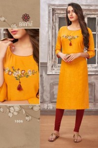 BAANVI NIKKI VOL 1 LOW RANGE KURTIS