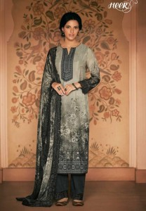 KIMORA HEER NARGIS SILK SUITS