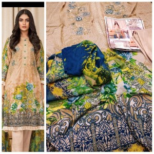 SAHIL EXCLUSIVE EMBROIDERED FESTIVE LAWN WHOLESALER