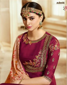 ZUBEDA NIHARIKA SERIES 701-707 SILK COLLECTION AT BEST COST