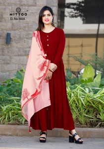 MITTOO ODHANI  RAYON KURTIS SUPPLIER