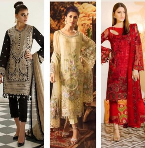 R 9 DESIGNER GULISA HIT PAKISTANI SUITS