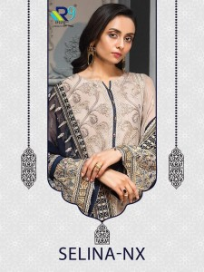 RSF SAHIRA SATIN GOERGETTE SALWAR SUITS CATALOGUE