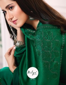 LT NITYA VOL 150 SATIN GEORGETTE SALWAR SUITS CATALOGUE