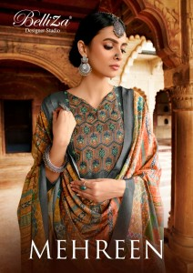 BELLIZA MEHREEN TUSSAR HANDLOOM SALWAR SUITS CATALOG