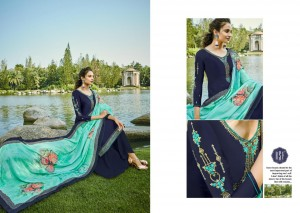 RSF GULAL VOL 3 SATIN GEORGETTE SALWAR SUITS CATALOGUE