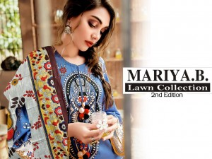 MARIYA B LAWN COLLECTION 2ND EDITION LAWN KARACHI SUITS