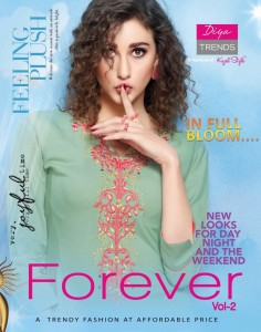 DIYA TRENDS FOREVER VOL 2 KURTI WITH PANTS CHEAPEST PRICE