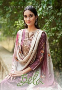 BELA FIZA COTTON SILK SALWAR SUITS CATALOGUE