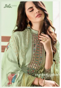 BELA FASHION MASAKALI COTTON SILK EMBROIDERED SUITS AT WHOLESALE
