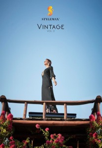 STYLEMAX VINTAGE VOL 2 READY MADE KURTIS BY SAJWAT CREATION