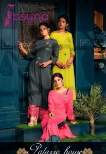 PSYNA PALAZZO HOUSE VOL 8 KURTI WITH PALAZZO AT RS 725 ONLY