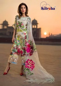 KILRUBA ASIFA NABEEL LAWN COLLECTION 19 NX BEST PRICE