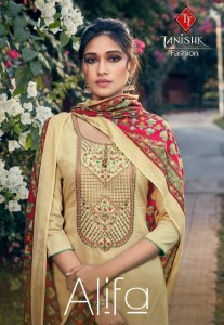 TANISHK ALIFA COTTON MAL DUPATTA SUITS BEST PRICE
