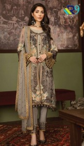 R9 DESIGNER FIYA NX PAKISTANI SUITS MANUFACTURER