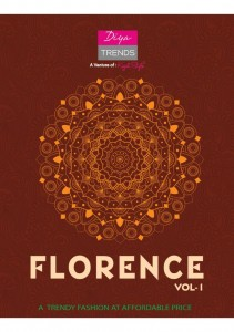 DIYA TRENDS FLORENCE VOL 1 KURTI WITH PALAZZO ONLINE SHOPPING