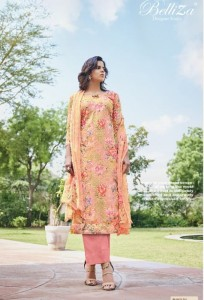 BELLIZA ISABELLE COTTON KARACHI SUITS WHOLESALER SURAT