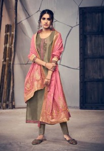IBIZA SOLACE SILK EMBROIDERED SUITS LATEST CATALOG