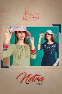 DIKSHA FASHION NETRA VOL 1 LATEST KURTIS COLLECTION