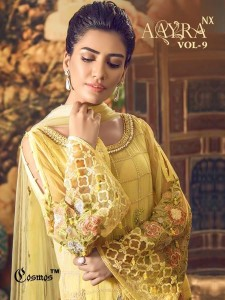COSMOS AAYRA VOL 9 NX DESIGNER SALWAR SUITS WHOLESALER