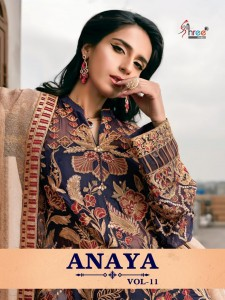 SHREE FABS ANAYA VOL 11 WHOLESALE SUITS SUPPLIER